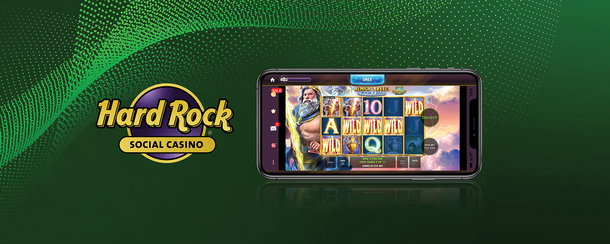 Play online at Hard Rock Social Casino